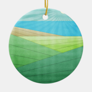 I Can See The Beach Christmas Ornaments