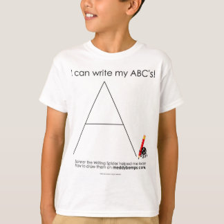 I can Write my ABC's T-Shirt
