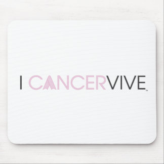 I CANCERVIVE - SLEEK MOUSE PAD