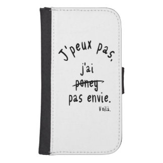 I cannot samsung s4 wallet case