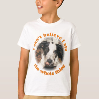 I can't believe I ate the whole thing dog Kid's T T-Shirt