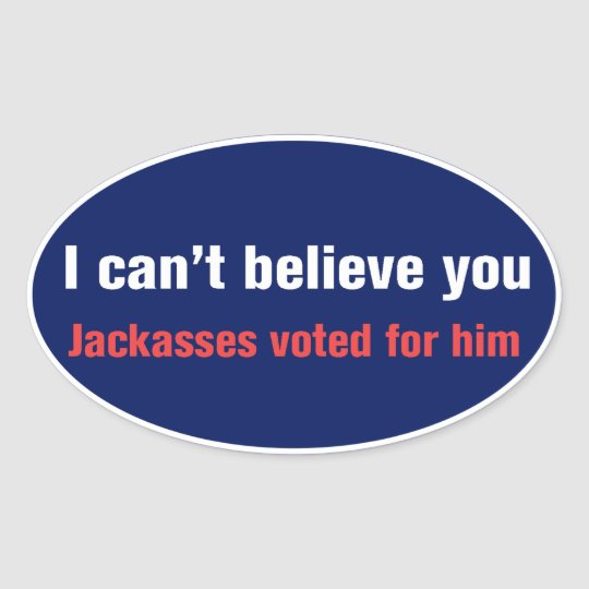 I Can't Believe... Sticker