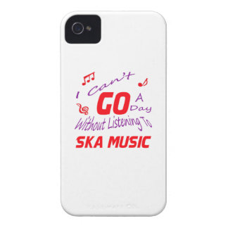 I can't go a day without listening to Ska music Case-Mate iPhone 4 Cases