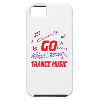 I can't go a day without listening to Trance music iPhone 5 Cover