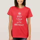 I can't keep calm Birthday party t shirts