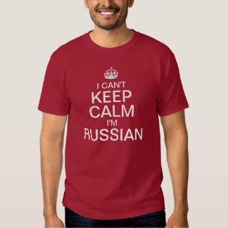 I can't keep calm I'm Russian Tshirt