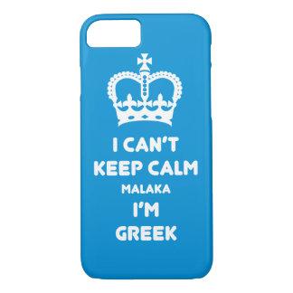 I can't keep calm Malaka ... iPhone 8/7 Case