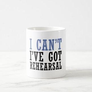 I Can't - Theater Coffee Mug