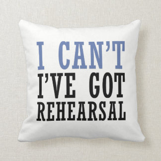 I Can't - Theater Throw Pillow