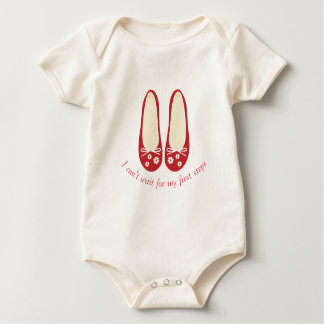 I can't wait for my First Steps Baby Bodysuit