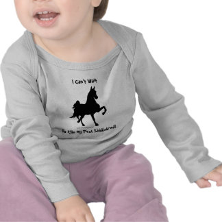 I Can't Wait To Ride My First Saddlebred! T Shirts