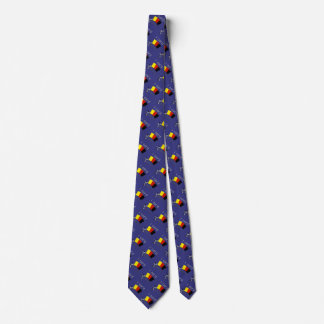 i card (referee) dark blue tie