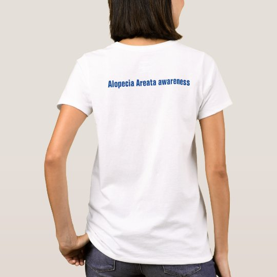 I care about someone rare Alopecia Areata T-Shirt