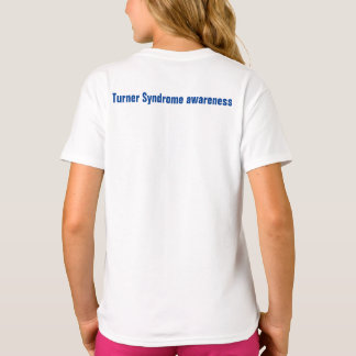 I care about someone rare Turner Syndrome T-Shirt