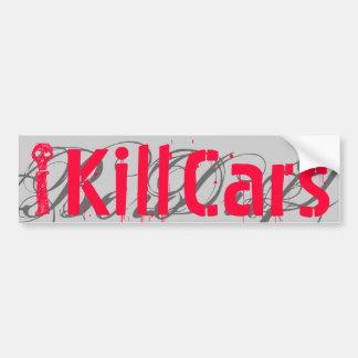 I Cars Kill G Bumper Sticker