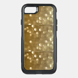 I-Case with Gold OtterBox Commuter iPhone 8/7 Case