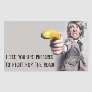 I Challenge You To A Banana Duel - Parking Note