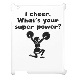 I Cheer Super Power Cover For The iPad