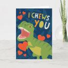 I Chews You! Valentine Christmas Card