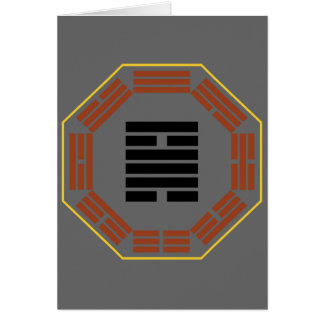 "I Ching Hexagram 50 Ting ""The Cauldron"" Card"