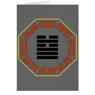 "I Ching Hexagram 5 Hsu ""Waiting"" Card"