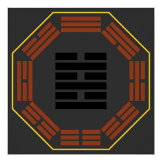 "I Ching Hexagram 63 Chi Chi ""After Completion"" Poster"