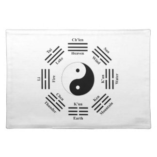 I ching placemat