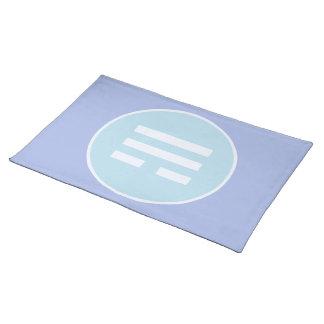 I Ching Wind Trigram (Xun) Placemat