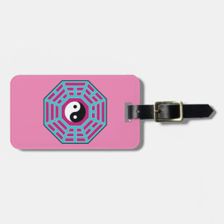 I Ching Yin Yang Luggage Tag