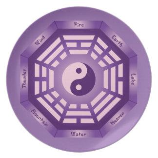 I Ching Yin Yang Plate