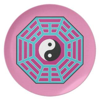 I Ching Yin Yang Plates