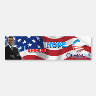 I Choose Hope Bumper Sticker
