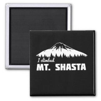 I Climbed Mt. Shasta Magnet
