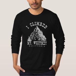 climbed mt t shirts shirt designs zazzle ca Mount Wilhelm i climbed mt whitney california t shirt