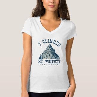 I Climbed Mt. Whitney California T-Shirt