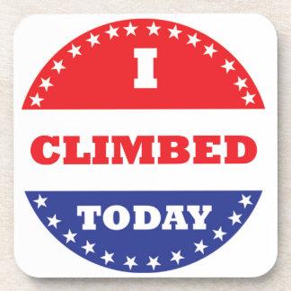 I Climbed Today Coaster