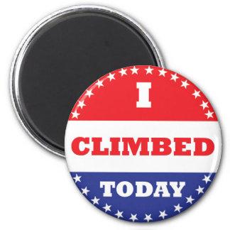 I Climbed Today Magnet