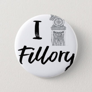 I (Clock) Fillory 2 Inch Round Button