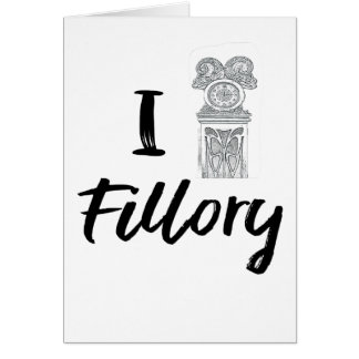 I (Clock) Fillory Card