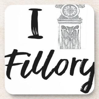 I (Clock) Fillory Coaster