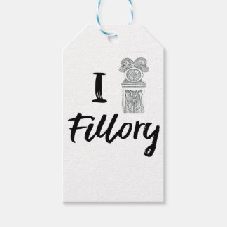 I (Clock) Fillory Gift Tags