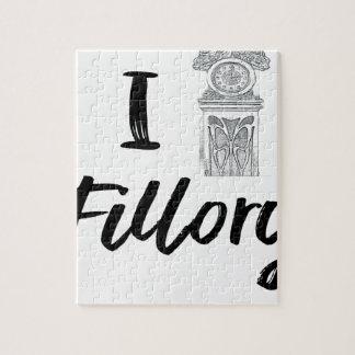 I (Clock) Fillory Jigsaw Puzzle