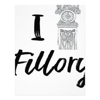 I (Clock) Fillory Letterhead