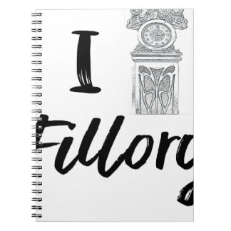 I (Clock) Fillory Notebooks