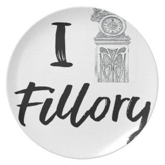 I (Clock) Fillory Plate