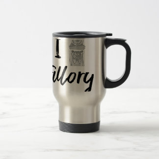 I (Clock) Fillory Travel Mug