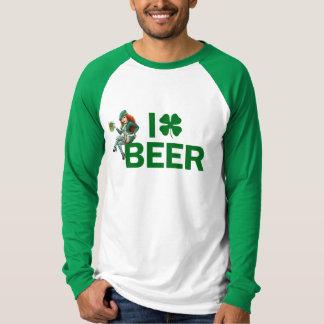 I [clover] BEER T-Shirt