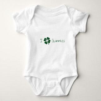I Clover Guinness Baby Bodysuit