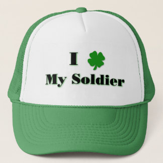 I (clover) My Soldier Green Hat