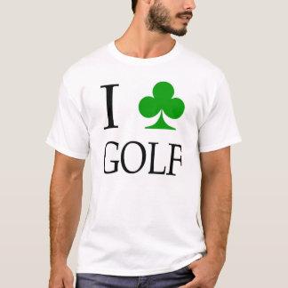 "I ""Club"" Golf T-Shirt"